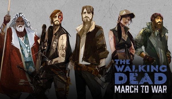 Ходячие Мертвецы: Путь к Войне. Первый взгляд на игру.